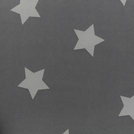 Tissu déperlant nano-tex Stars - gris clair x 10cm