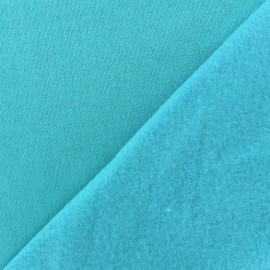 Sweat fabric - sea x 10cm