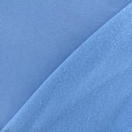 Tissu sweat - bleu lavande clair x 10cm