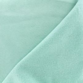 Tissu sweat - vert d'eau x 10cm