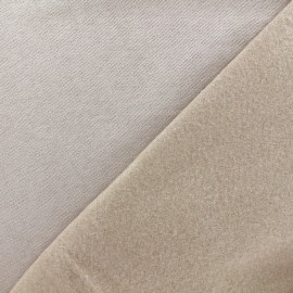 Sweat fabric - light sand  x 10cm