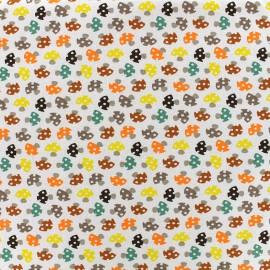 Tissu jersey Poppy Toadstools - beige clair x 10cm
