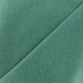 Drap manteau bleu paon