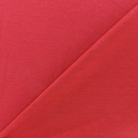 Crepe jersey fabric - red x 10cm