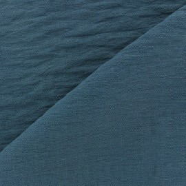 Viscose Fabric - petrol blue x 10cm