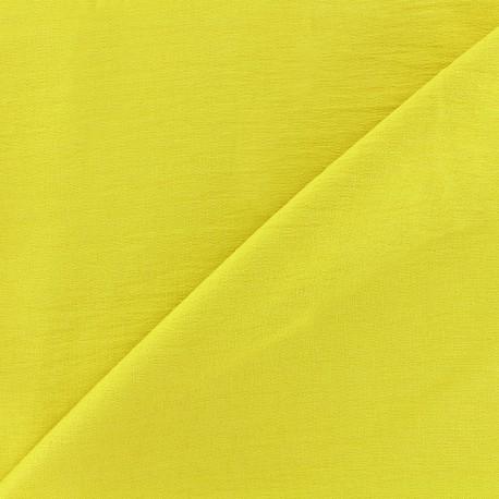 Tissu viscose - moutarde anglaise x10cm