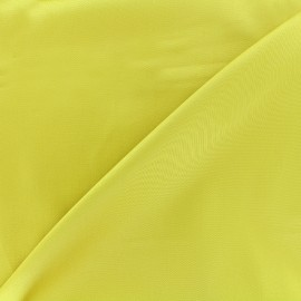Satiny Lycra Gabardine Fabric - english mustard x 10cm