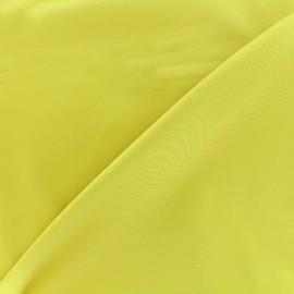 Tissu Gabardine Lycra satiné - moutarde anglaise x 10cm
