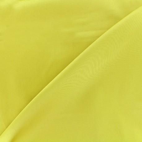 Satiny Lycra Gabardine Fabric - english mustard x 10cm