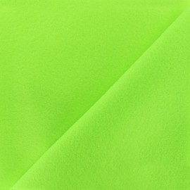 Neon felt Fabric - green x 10cm