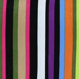 Tissu viscose Majorca - multi x 10cm