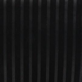 Tissu tailleur Touquet - noir x 10cm