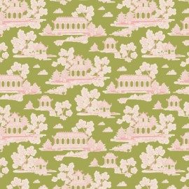 Tilda cotton fabric Sunny park - green x 10cm