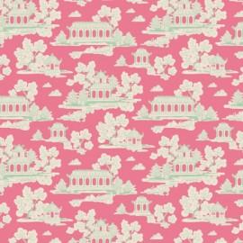 ♥ Coupon 300 cm X 110 cm ♥ Tilda cotton fabric Sunny park - pink