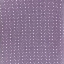 Cotton fabric Mini pois - white/red x 10cm
