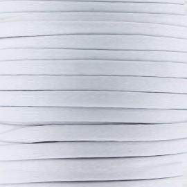 Cotton Spaghetti Cord 5 mm - light grey