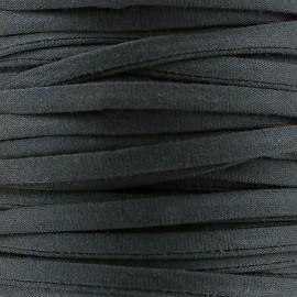 Cotton Spaghetti Cord 5 mm - grey