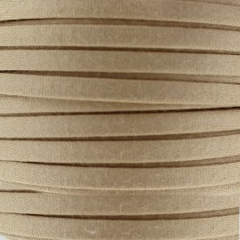 Cotton Spaghetti Cord 5 mm - grege
