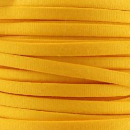 Cotton Spaghetti Cord 5 mm - yellow