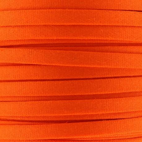 Cotton Spaghetti Cord 5 mm - orange