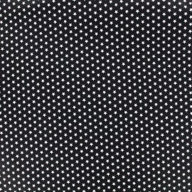Tissu Poppy Graphics Stars - blanc/noir x 10cm