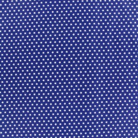 Poppy cotton fabric Graphics Stars - white/navy x 10cm