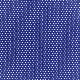 Tissu Poppy Graphics Stars - blanc/navy x 10cm