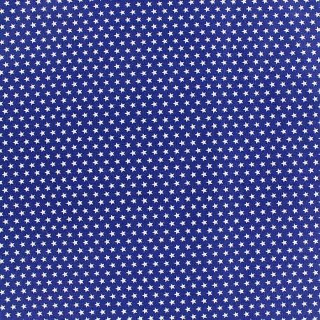 Poppy cotton fabric Graphics Stars - white/navy x 10cm