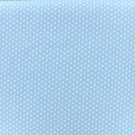 Tissu Poppy Graphics Stars - blanc/ciel x 10cm
