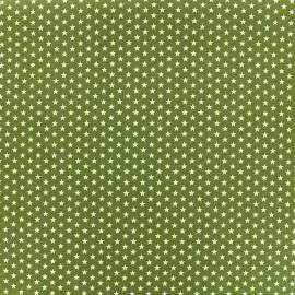 Tissu Poppy Graphics Stars - blanc/mousse x 10cm