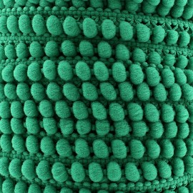 Galon little pompon Color - vert menthe x 1m