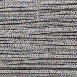 Cordon tricotin irisé 4mm - taupe x 1m