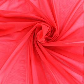 Tulle élasthanne Avatar - rouge x 10cm