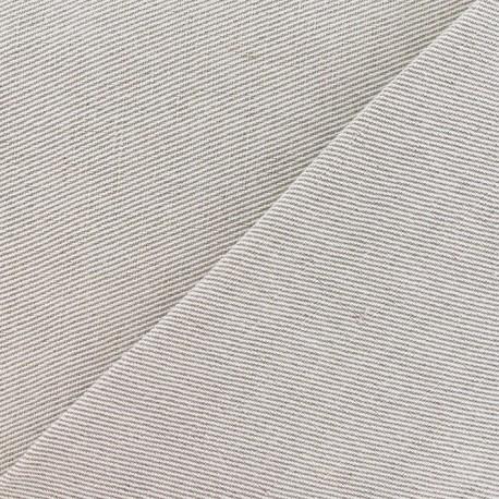 Tissu toile métis uni lin 700gr x 10cm