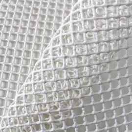 Non-slip net for carpets 120cm - ecru x10cm