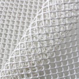 Tissu antidérapant dessous de tapis 150cm - écru x 10cm