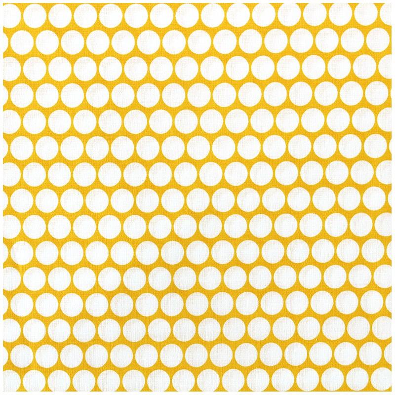 tissu percale de coton grande largeur pois jaune x 10cm ma petite mercerie. Black Bedroom Furniture Sets. Home Design Ideas