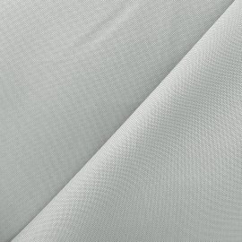 Polyester canvas Fabric - light grey x 10cm