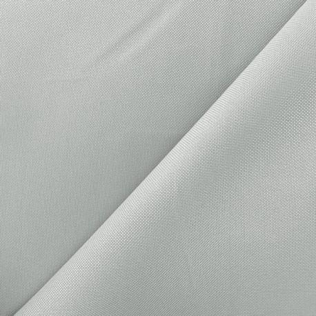 Tissu toile polyester - gris clair x 10cm
