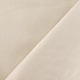 Tissu Coton uni - beige clair x 10cm