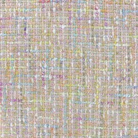 Tissu tweed poudré x 10cm