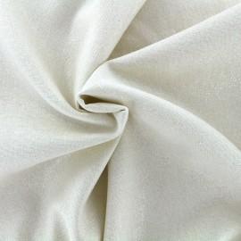 Tissu lin viscose irisé x 10cm
