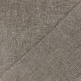 Tissu Lin chambray x 10cm