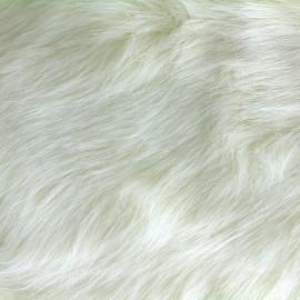 Fourrure Yeti - blanc x 10cm