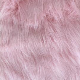 Fourrure Yeti - rose x 10cm
