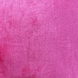 Fourrure Ours - rose bonbon x 10cm