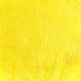 Fourrure Ours - jaune clair x 10cm