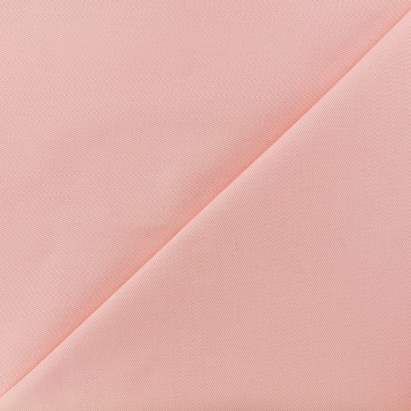 Tissu coton sergé - flamant x 10cm