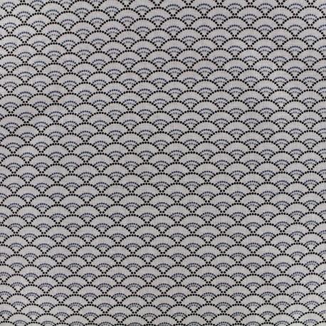 Tissu coton Koï - lin x 10cm
