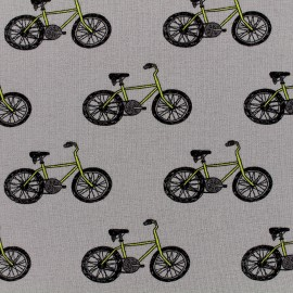Poppy jersey fabric Bicycle Boogie - grey x 10cm